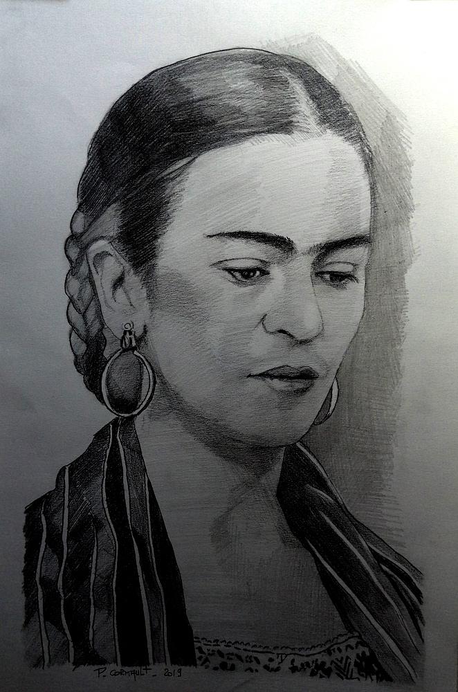 Frida Kahlo by Philippe